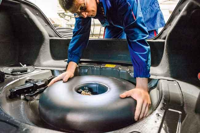 Что меняется в конструкции автомобиля при установке ГБО?