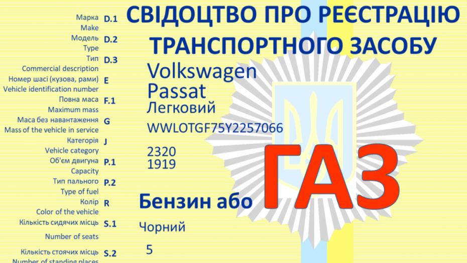 Реєстрація ГБО 2020