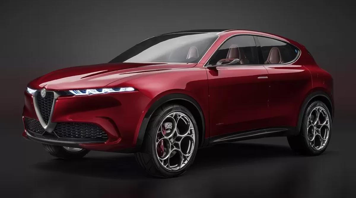 Alfa romeo скоро представить кросовер tonale легкові авто кросовер alfaromeo motor-z