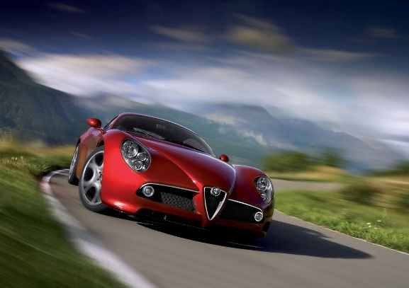 Alfa romeo 8c competizione фото-огляд з характеристиками